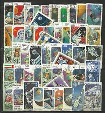 SPACE EXPLORATION Collection Packet 100 Different WORLD Stamps