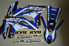 FLU  TS1 TEAM GRAPHICS & BACKGROUNDS YAMAHA YZ250F YZF250  2010  2011 2012  2013
