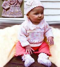 SALE - SAVE 30%  HEART SWEATER HAT BOOTIES for PREEMIES to 18 MO by NATURALLY