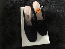 Black suede ladies primark heels. New