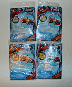 """Lot of 4 Marvel Ultimate Spider-Man 7"""" Inflatable Arm Floats Ages 3+"""