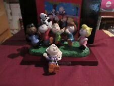 Peanuts Heroes Flambro 1998 LE Charlie Brown Snoopy Lucy Linus rare retired