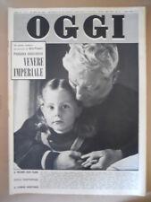 OGGI n°5 1959 Paolina Borghese Venere Imperiale Jean Gabin [G790]