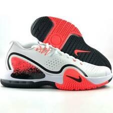 Nike Nikecourt Tech Challenge 20 Hot Lava White Wolf Grey BQ0234-100 Men's 10