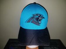 Carolina Panthers Blue and Black Fitted S M New Era NFL Hat New 5bb92fce7