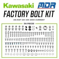 MDR Kawasaki Factory Pro Bolt Hardware Kit for KX KXF 125 - 450
