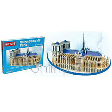 Puzzle 3D de Notre-Dame Rompecabezas Gran Diversión a1495