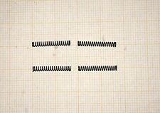 4 x molla a compressione, lunghezza 16,5mm esterno, ø2, 25mm, SPESSORE FILO 0,25mm