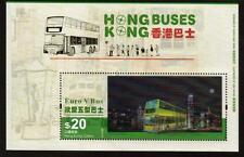 HONG KONG 2013 MNH $20 BUSES MINISHEET