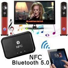 NFC Bluetooth 5.0 Receiver Adapter 3.5mm RCA Amplifier Speaker Wireless Adapter