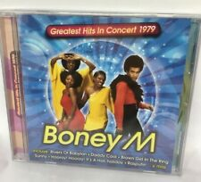 BONEY M cd made in Chile new and sealed Greatest Hits in Concert 1979