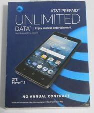 NEW UNLOCKED AT&T Prepaid - ZTE Maven 2 4G LTE