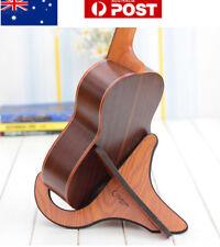 AU! Guitar Wooden Stand Bracket Holder Shelf Mount For Ukulele Violin Mandolin