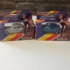Matchbox James Bond Renault Taxi/ Roll's Royce Silver Cloud