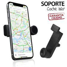 SOPORTE DE MOVIL COCHE 360º UNIVERSAL EXTENSIBLE GPS compatible IPHONE SAMSUNG