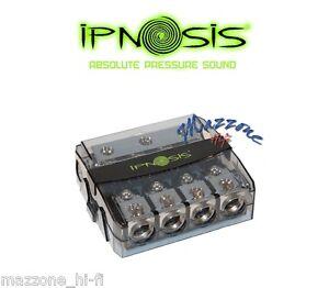 IPNOSIS IPH-S450 PORTAFUSIBILE DISTRIBUTORE 4 USCITE 50mm SDOPPIATORE AUTO CAMIO