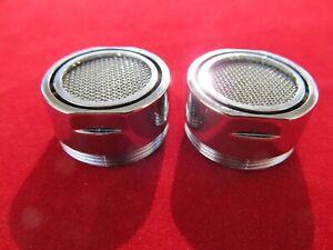 2x Wasserhahnfilter Mischdüse M24 Außengewinde Waschbecken Spüle Strahregler
