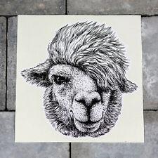 Cute Llama Sticker - Scrapbooking - Wall - iPad - MacBook - 5586