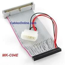 4 inch 40-Pin Male to 44-Pin Female IDE Cable, MK-C04E
