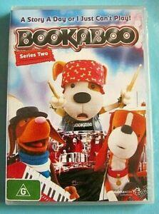 BOOKABOO Series 2 DVD (Kids stories) NEW SEALED *see below