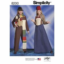 Simplicity, 8200 Doctor Who Costumes Sewing Pattern.  Size 14/22