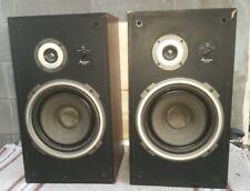 Vintage Pair Of Mitsubishi DS-25B Speaker Audiophile 60W Each .