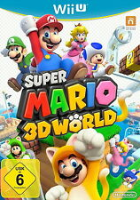 Nintendo wii u super Mario 3d world Jump N run 80 Level multijoueur multilingue