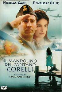 IL MANDOLINO DEL CAPITANO CORELLI (2001) DVD EX NOLEGGIO - UNIVERSAL