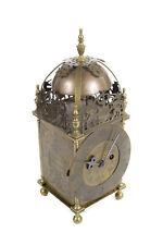 Antique Brass Fuse Lantern Clock - Smeaton ad Londini 1727 - England