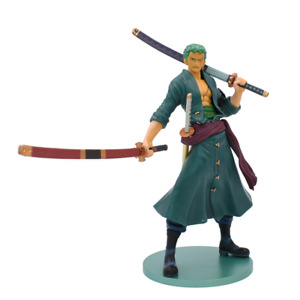 Anime One Piece Zoro PVC Action Figure Model Toy Collectable Gift 23cm