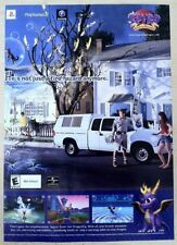Spyro the Dragon Enter The Dragonfly Poster Ad Print Playstation 2