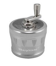 "2.5"" Sharpstone 2.0 4pc Crank Top Grinder - Silver"