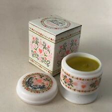 Avon Hearts and Flowers Fragrance Candle - 1973 In Box