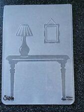 Sizzix Large A6 con Texture goffratura CARTELLA Foyer Lampada da tavolo pictureframe GRATIS P&P