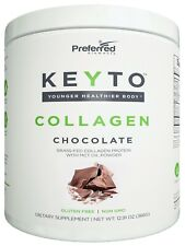 Keto Collagen Protein with MCT Oil Powder Grass Fed and Pasture Raised Hydrolyze