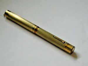 VINTAGE WAHL GOLD FILLED RING TOP FOUNTAIN PEN