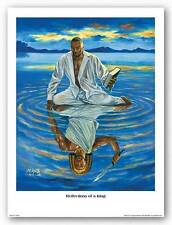 Reflection of a King A.C. Smith African American Art Print