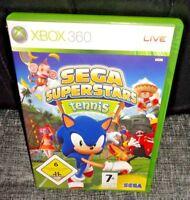 Sega Superstars Tennis XBOX 360 Game