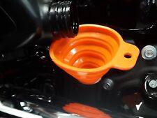 Harley Davidson Dyna FXD FXDX FXDXT Superglide FXDL Lowrider Orange Funnel