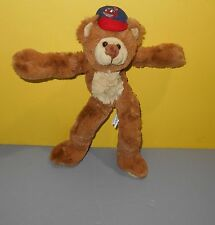 "12"" Fiesta Cleveland Indians Bendable Soft Tan Stuffed Plush Rally Teddy Bear"