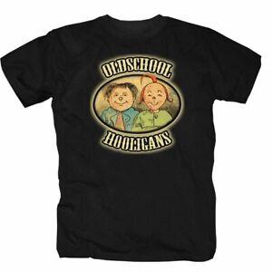Max und Moritz Oldschool Hooligans W.Busch Märchen Fußball Spass T-Shirt S-5XL