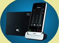 NEU Gigaset SL910A Anrufbeantworter Touchscreen analog DECT Telefon Metallgehäse