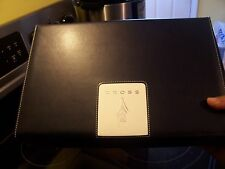 GORGEOUS GENUINE LEATHER CROSS FOUNTAIN PEN CASE WITH A LOT OF EXTRAS INCLUDEDs