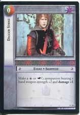 Lord Of The Rings Foil CCG Card RotK 7.C84 Dagger Strike