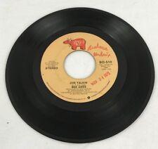 BeeGees Jive Talkin' 45 RPM Record