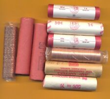 Canada 1965 mint ROLL of 50 copper 1 cent wrapped