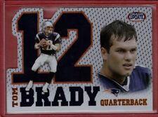 Tom Brady 2002 Pacific Heads Update Big Numbers Card #15
