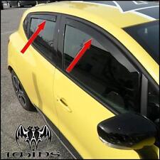Set 4 Deflettori Aria Antiturbo Oscurati Renault Clio IV 2012-2019 5p 5 porte