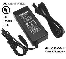 Hoverboard charger UL CERTIFIED 42V Power Adapter Charger 2 Wheel Self Balancing