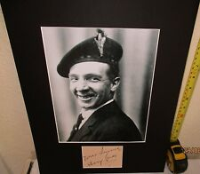 HARRY LAUDER SCOTTISH GREAT VINTAGE AUTHENTIC  SIGNED AUTOGRAPH DISPLAY UACC
